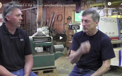 Getting started in furniture making