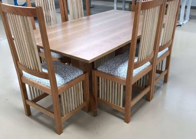 Mission Style Dinette by Jessica Becker