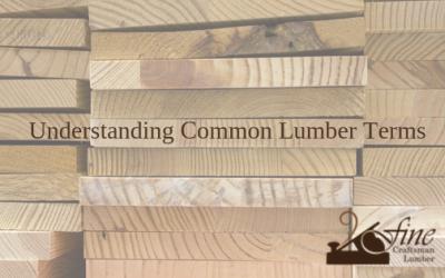 Understanding Common Lumber Language