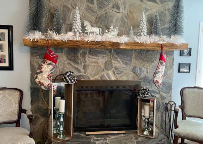 Pecan Mantel by Donald Bailey