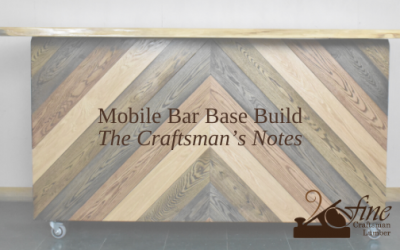 Bar Top Base Build – The Craftsman's Notes