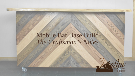Bar Top Base Build – The Craftsman's Notes