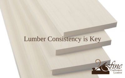Lumber Consistency is Key