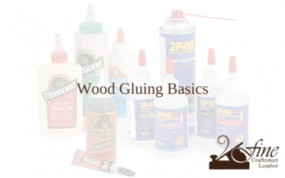 Wood Gluing Basics